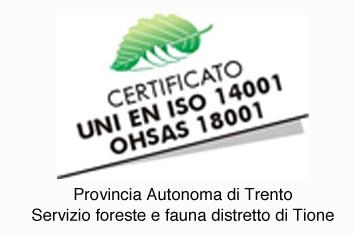 Servizio Foreste e Fauna Distretto di Tione